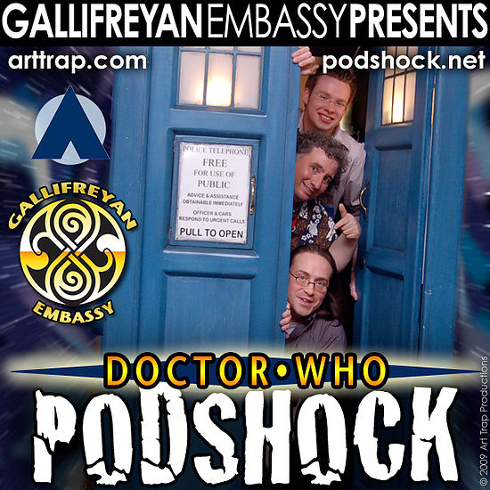 "Doctor Who: Podshock Cover Art ""D"""